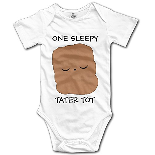 Cotton Baby Onesie One Sleepy Tater Tot Climb Clothes