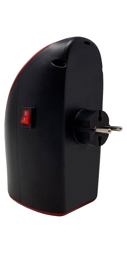 Calentador eléctrico Wonder Warm de 400 W de DMC Shop, con temperatura de 15 a 32 grados para enchufar con temporizador y control remoto, sale en la TV: ...