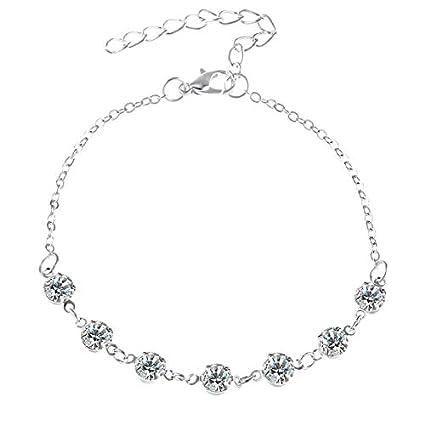 Amazon.com: Haga Anklet Bracelet vintge Multiple lers nklets ...