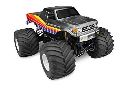 Racerback Cab (1/10 1989 Ford F-250 Monster Truck Clear Body with Racerback)