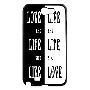 Love the Life You Live Design Cheap Custom Hard Ipod Touch 5 , Love the Life You Live Ipod Touch 5