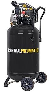 Central pneumatic 2 5 horsepower 21 gallon for Harbor freight compressor motor