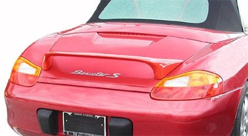 JSP Rear Wing Spoiler Compatible with 1997-2004 Porsche Boxster S Custom Style Primed 339149
