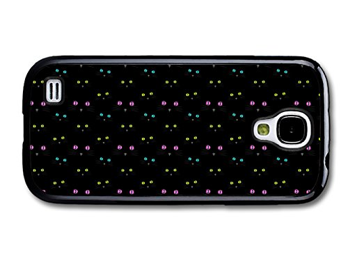 Funny Cute Cat Pattern Stylish and Black coque pour Samsung Galaxy S4 mini