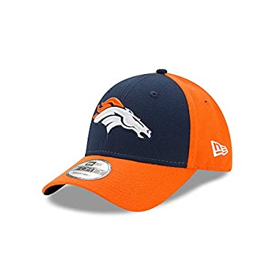 Denver Broncos New Era 9FORTY The League Blocked Adjustable Hat / Cap from New Era