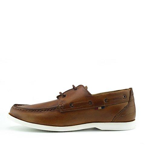 Zapatos Cuero Eye Casual Zapatos Clásico Boat 2 Bronceado Hombre Mocasines para qZ5qawr8
