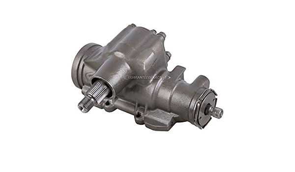 BuyAutoParts 82-00464R Remanufactured Right Hand Drive Power Steering Gear Box For Postal Jeep Wrangler YJ TJ RHD 1993-2004