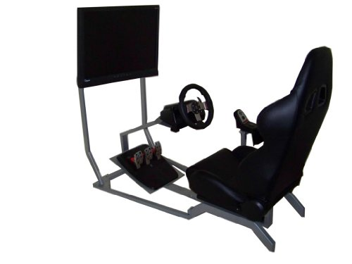 GTR Racing Simulator - GT Model with Real Racing Seat, Drivi