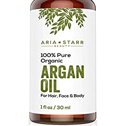 Aria Starr Beauty ORGANIC Argan Oil, 1 oz