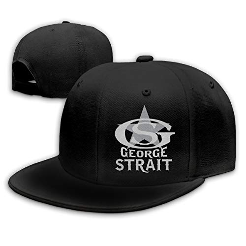 KissKid George Strait Unisex Relaxed Adjustable Baseball Cap Hats Black]()