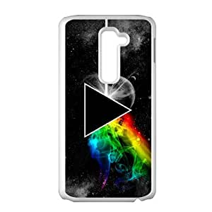 LG G2 Cell Phone Case White Pink Floyd BIQ Back Durable Case
