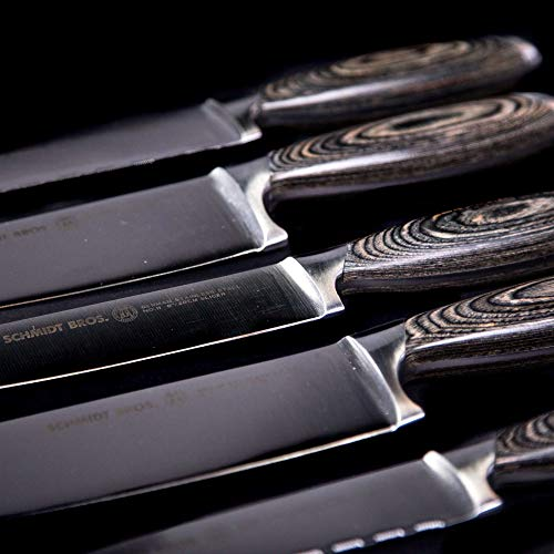Schmidt Brothers - Bonded Ash 8'' Chef Knife, High-Carbon German Stainless Steel Cutlery by Schmidt Brothers - Brother Brands Inc (Image #7)