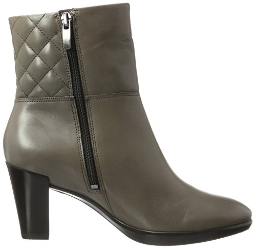 ECCO Women's Shape 55 Plateau Stack Boots Grey (Stone 1064) zh94XQnU1