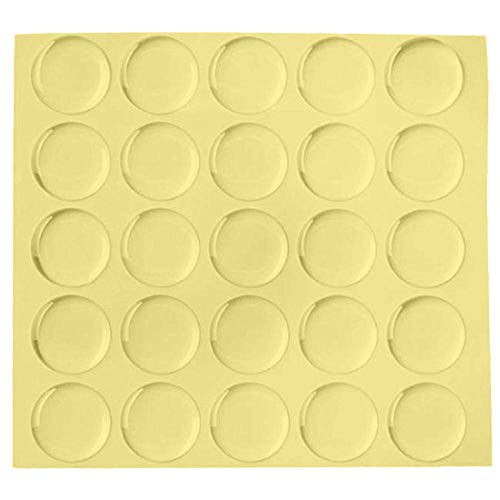 Remarkabel Clear Epoxy Stickers - Epoxy Adhesive Seal Stickers for Pendants,Bottle Cap Epoxy 1-Inch 100 PCS.