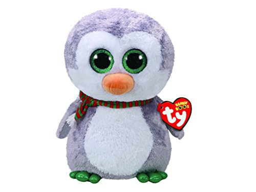 TY Beanie Boo Chilly the Penguin Large Soft Toy (Claire's Exclusive) - Chilly Little Penguin