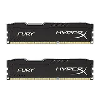 Kingston HyperX FURY 16GB Kit (2x8GB) 1866MHz DDR3 CL10 DIMM - Black (HX318C10FBK2/16) (B00J8E8Y5C)   Amazon price tracker / tracking, Amazon price history charts, Amazon price watches, Amazon price drop alerts