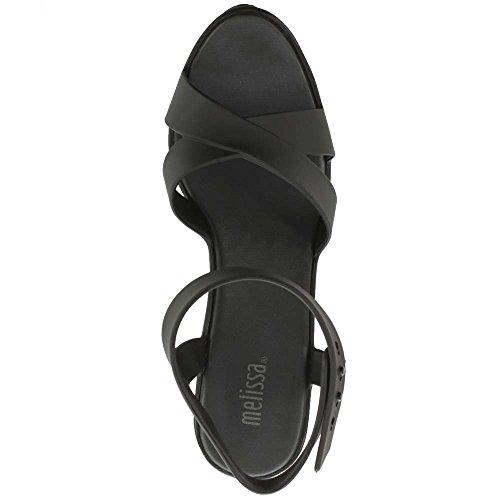 Black Block black patent Classic Heel Sandal Lady E5nqU7