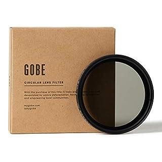 Gobe NDX 62mm Variable ND Lens Filter (1Peak)