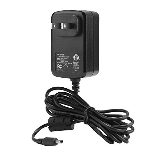TOP-SPEED AC Power 15V Supply Adapter Charger/Cord 21W for Amzon Alexa Echo (1st & 2nd Generation), Echo Show, Echo Plus(1st Generation), Echo Look, Fire TV 2nd Gen and Echo Link