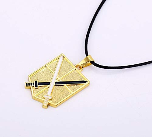 Attack On Titan Pendant/&necklace No Cosplay Scouting Legion Badge Pendant With Pp Bag