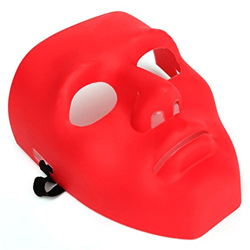[Scary Face Halloween Masquerade B-Boy Mime Mask Ball Party Costume Theater] (Halloween Costume Mime Face)