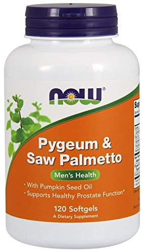 Now Foods Pygeum Palmetto Extract