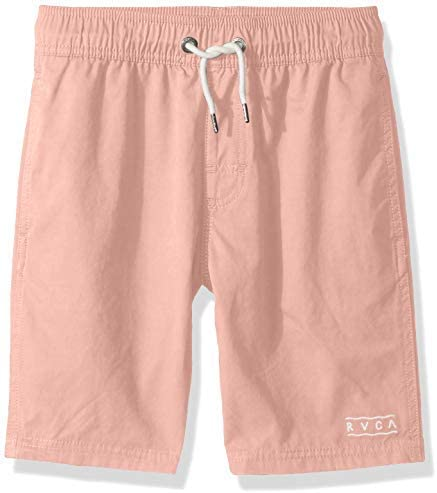 Big Boys' Gerrard Elastic Boardshort Trunk Coral XS [並行輸入品]