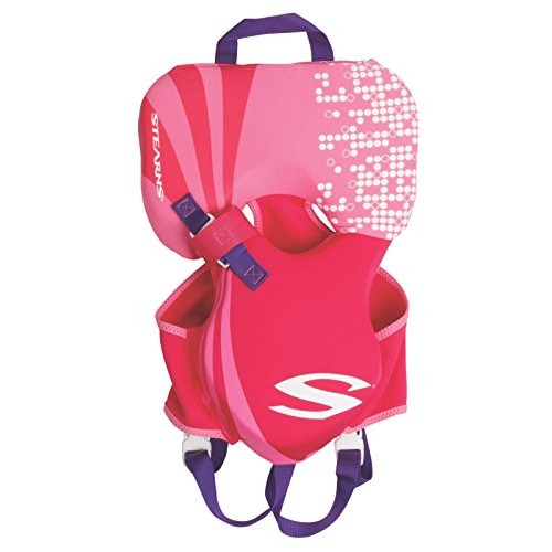 - Stearns Puddle Jumper Infant Hydroprene Life Jacket, Pink