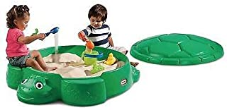 product image for Little Tikes Green Turtle Sandbox