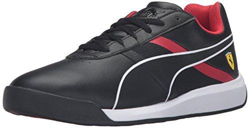 Puma Uomo Podio Tech Sf Fashion Sneaker Puma Nero / Puma Nero / Rosso Corsa