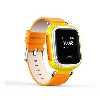 Smart reloj de infantil de GPS Phone Q50, anti-lost SOS Niños Reloj De Muñeca De GPS Teléfono GSM desbloqueado cuatribanda: Amazon.es: Amazon.es