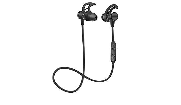 Auriculares inalámbricos,Bluetooth V4.1 con magnético,Auriculares ...