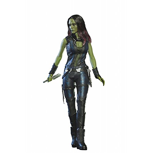 Zoe Saldana Guardians Of The Galaxy Costume (Marvel Guardians of the Galaxy Movie Masterpiece Gamora 1:6 Collectible Figure)