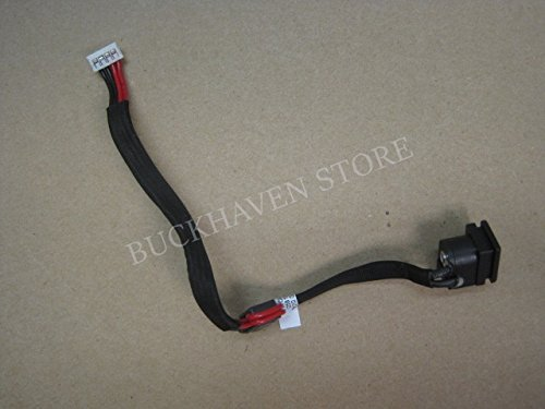 (dc jack power plug with harness cable for Toshiba Satellite C655D-S5057 15.6