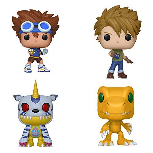 Digimon Complete Set (4) Funko Pop!