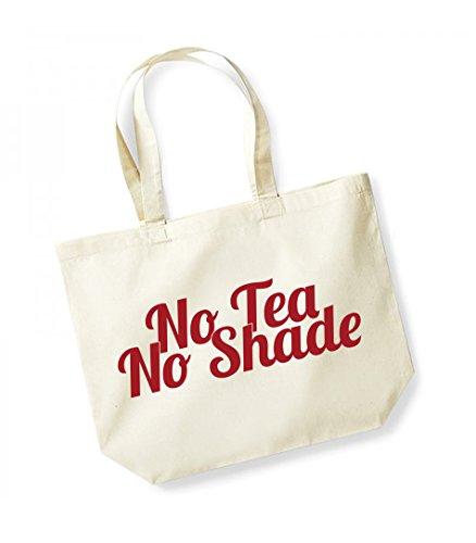 Unisex Kelham Slogan red Tote Bag Cotton Print No Canvas Natural Shade Tea 1r51qw