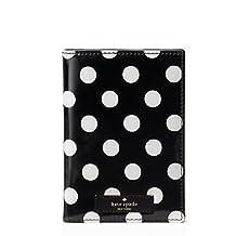 Kate Spade New York daycation passport holder - black/cream dot