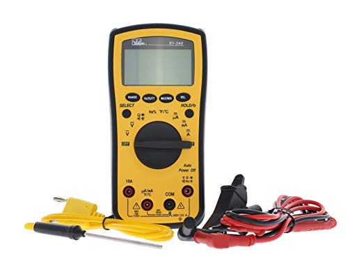 IDEAL INDUSTRIES INC. 61-340 Test-Pro Digital Multi-Meter