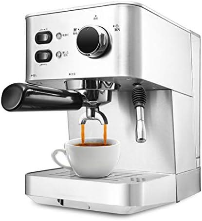 ZAHNG Rostfreiem Kaffeemaschine Espresso Stahl Haushalt, 15Bar Druck, Unabhängige Dual-Temperaturregelung 1.5L