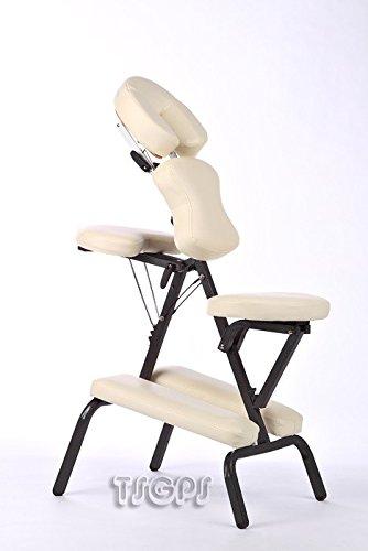 Chaise de massage Aluminium Sac inclus Cr�me