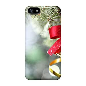 Awesome Case Cover/iphone 5/5s Defender Case Cover(bell-christmas Decirations)