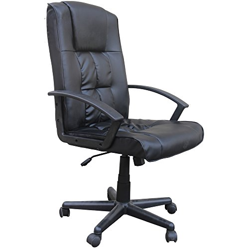 Homegear Deluxe Wheeled Computer Desk Chair/Home Office Chair
