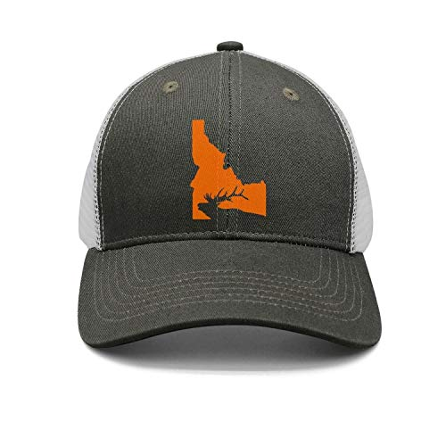 Idaho State Elk Hunting Snapbacks Truker Hats caps Unisex Adjustable Fashion