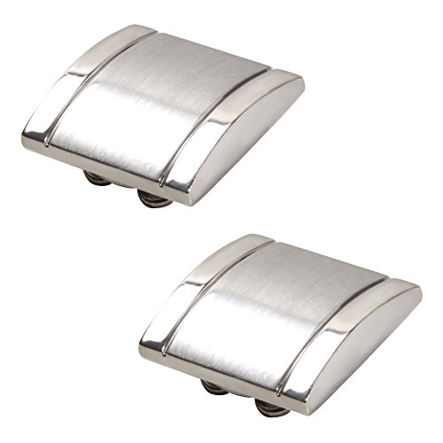 Silver Button Covers - The Only Cufflinks for Shirts with Buttons (SQ-11 - Cuff Cover
