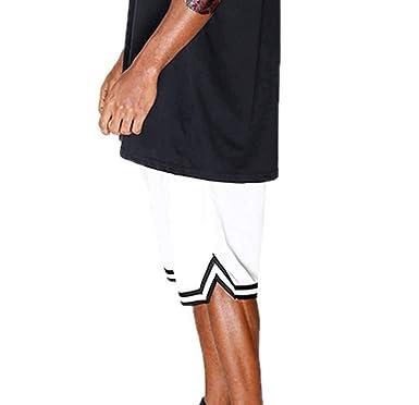 Pantalones Cortos de Baloncesto para Hombre Cintura elástica ...