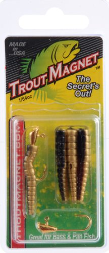 Trout Magnet Lures (Leland Lures Trout Magnet Pack (9 Piece), Bison)