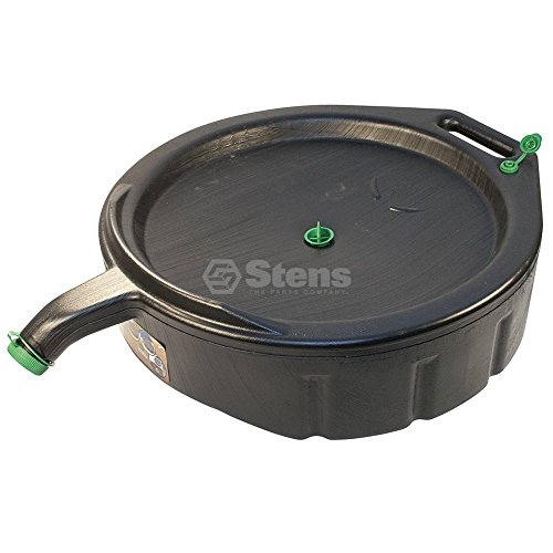 Stens 750-732 Oil Drain, Easy pouring design, Won't rust, dent or corrode, Made of high density resin, 15 quart 15 Quart Oil Drain