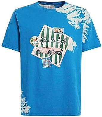 Guess - Camiseta M0GI69I3Z00 Multicolor - M0GI69I3Z00FSA7 ...