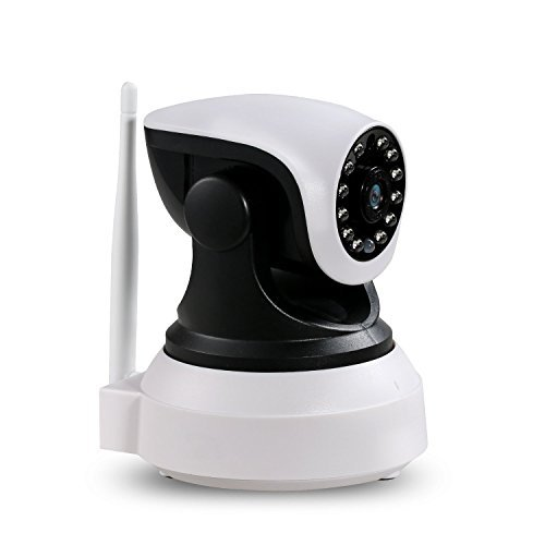 NexGadget IP Camera HD WiFi Security Camera Video Recording Pan Tilt Remote Motion Detect Alert