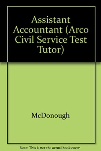 amazon com assistant accountant the complete study guide for rh amazon com arco civil service test study guide pdf Civil Service Examination Schedule